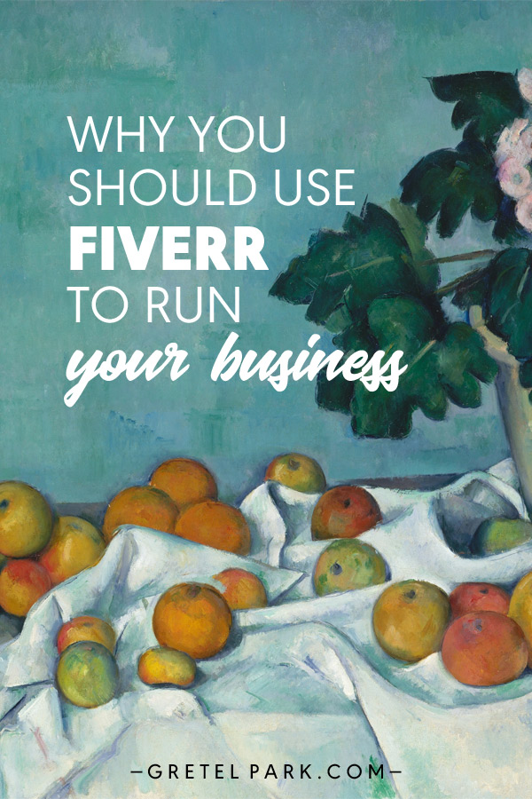 Use Fiverr to run your business